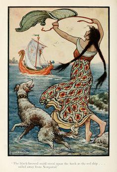 Russian Storybook Illustration 1916 - Tumblr BODOYLECi5 . AuGréDeMonHumeur...