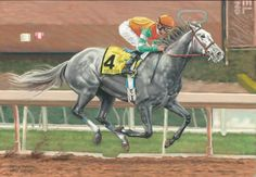 Unique Bella Mike Smith horse race racing fine art print print (12/50)signed | eBay