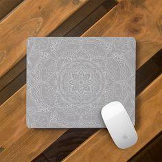 Mouse Mat Desk Accessories Mousepad Mouse Pad Mandala Mouse