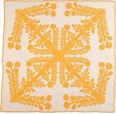 Gorgeous Hawaiian quilt, wish I had the patience