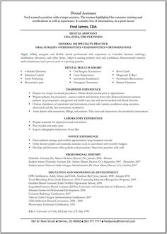 Dental Hygienist Resume Objective  Dental Hygienist Resume