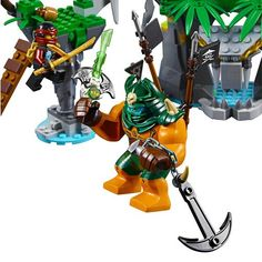 LEGO NINJAGO 70604 - Schwarze Witwen-Insel: Amazon.de: Spielzeug