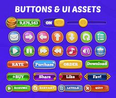 Dingdong: Game UI Pack on Behance