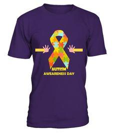 AUTISM AWARENESS DAY T SHIRT  Funny Autism T-shirt, Best Autism T-shirt