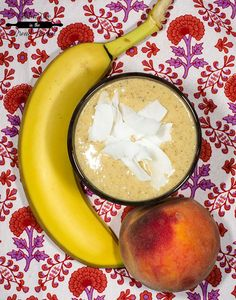 Peachy Keen Sunrise Smoothie (Paleo, gluten free, dairy free, soy free, vegan)