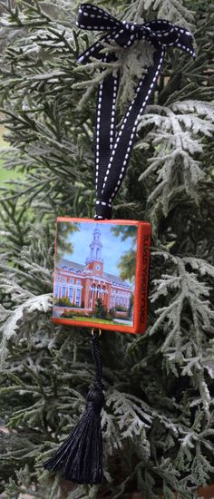 OKLAHOMA STATE University Ornament or Magnet / College Ornament or Magnet / OSU Mini Canvas Ornament or Magnet by ArtistsHoliday on Etsy https://www.etsy.com/listing/213800099/oklahoma-state-university-ornament-or