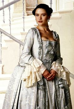 Catherine Zeta Jones Catherine The Great ( 1995 ) Period Costumes, Movie Costumes, Historical Costume, Historical Clothing, Antique Clothing, Historical Romance, Vintage Outfits, Vintage Fashion, Rococo Fashion