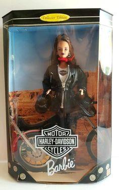 Barbie Doll Harley-Davidson Collectors Edition 1998 USA Seller C6-1451 #Mattel…