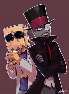 BLACK HAT and DR FLUG by citgepolol.deviantart.com on @DeviantArt
