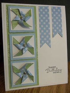 Pinwheels (F4A161) by ~CA~ - Cards and Paper Crafts at Splitcoaststampers