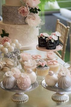 Featured Cake: Cotton & Crumbs; Wedding dessert idea.