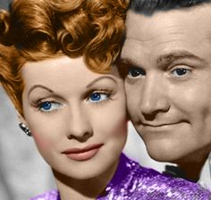 Lucille Ball and Red Skelton