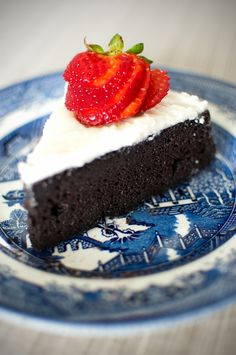 GF Black Bean Chocolate Cake
