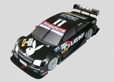Spa-Francorchamps 2005 Team OPC Playboy Opel Vectra GTS V8 DTM Paper Car Free Paper Model Download