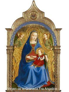 Fra Angélico. Virgen de la Granada.