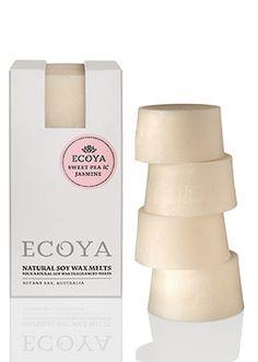 Ecoya Sweet Pea & Jasmine Soy Wax Melts