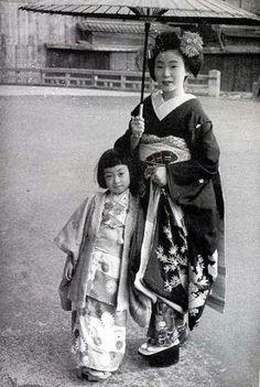 Mineko Iwasaki six-year-old