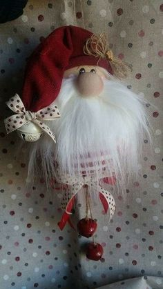 Love is in the air! Two little gnomes I just finished. Christmas Decorations Sewing, Diy Christmas Ornaments, Homemade Christmas, Diy Christmas Gifts, Christmas Projects, Holiday Crafts, Christmas Gnome, Scandinavian Christmas, Christmas Holidays