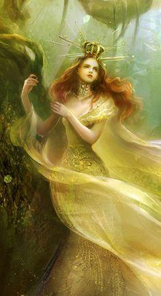 Queen of Pentacles - Shenhaiyuyou