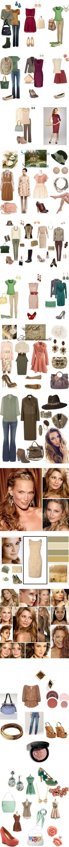 Soft Autumn by authenticbeauty on Polyvore featuring Alexandre Birman, Maloa…