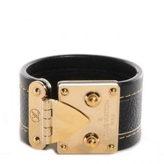 (NEW) LOUIS VUITTON Suhali S Lock Bracelet Small Black. Get the lowest price on (NEW) LOUIS VUITTON Suhali S Lock Bracelet Small Black and other fabulous designer clothing and accessories! Shop Tradesy now