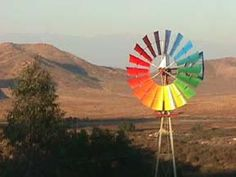 rainbow windmill
