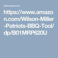 Wilson & Miller Patriot's BBQ Tool Set