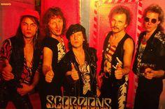 Klaus Meine. Rudolf Schenker. Matthias Jabs. Herman Rarebell. Francis Buccholz. Scorpions.