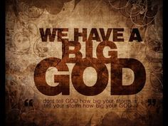 My GOD is so Big so Strong So Mighty - YouTube
