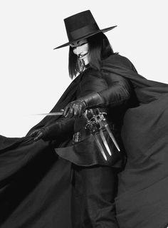 """""""V"""" from V for Vendetta"""
