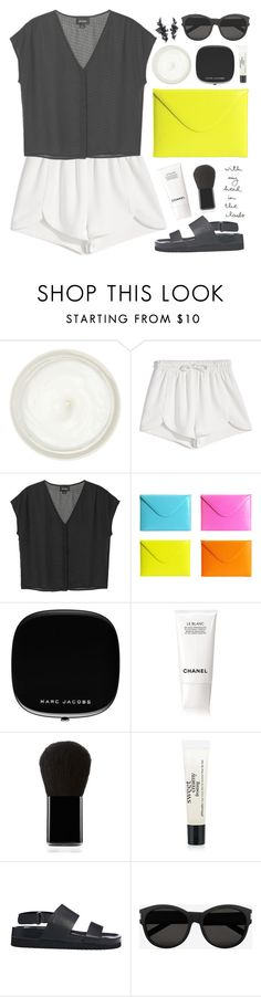 """""""That clutch!"""" by pantelle ❤ liked on Polyvore featuring Sisley - Paris, Francesco Scognamiglio, Monki, C/FAN, Chanel, Edward Bess, philosophy, Senso and Yves Saint Laurent"""