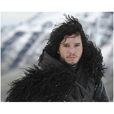 Jon Snow In Winter Clothing - 8x10 Photograph / Photo - Game of Thrones