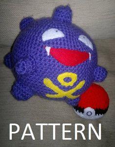 Koffing Pokemon Crochet Pattern