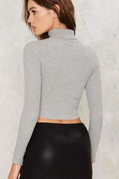 Beckett Ribbed Crop Top | Shop Clothes at Nasty Gal!