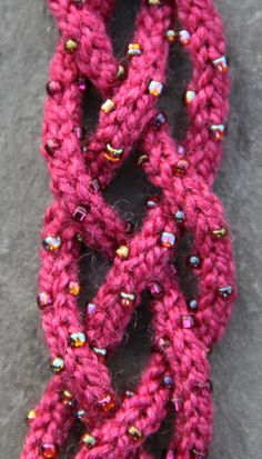 Knitted Jewelry | Nelkin Designs Soutache Beaded Knitting Kit