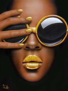 Reflecting Styles - Scott Rohlfs - yellow lips