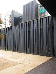 Entrance_art Nail Desing sarah r nail designs Door Gate Design, Facade Design, Wall Design, Exterior Design, House Design, Modern Fence Design, Compound Wall, Boundary Walls, Building Facade