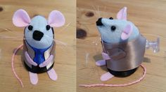 I love it when I get a weird custom request, I know I'm going to love the story behind it every time! Click the photo to read the story behind Deflated Mouse.