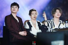 Seungri,  Taeyang and Daesung  Big Bang