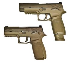 BREAKING: US Army Selects Sig P-320 To Replace M9 Original Post Updated at 11pm With SIG Press Release and Photos of the Pistol - The Firearm BlogThe Firearm Blog