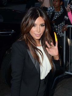 Kim Kardashian ombre. Visit here…