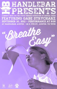 A good friend of Amy's spear-headed a fund raiser for the Cystic Fibrosis Foundation.  This might become an annual event so if you in Austin, TX check out Handlebar to see if they have something special planned in Amy's memory.