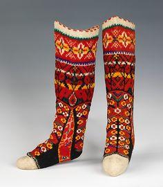 epic socks, late 19th, Hungarian