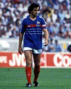 Michel Platini of France in 1984.