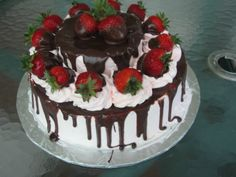 Two layer Strawberry Cheesecake