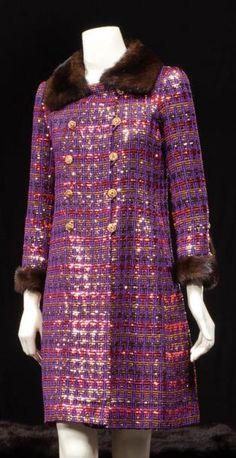 Yves Saint Laurent   Haute couture, No. 29671, Fall-Winter 1966/1967 Coat Cocktail