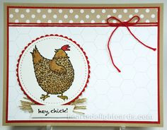 Heart's Delight Cards: Hey, Chick! PPC223
