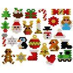 25 Advent Beaded Charms - not a great photo. But cute. The idea isa different.   (This link goes to a site to purchase the pattern.)
