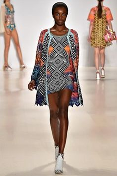 Custo Barcelona womenswear, spring/summer 2015, New York Fashion Week
