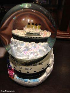 titanic snow globe   Titanic : The Exhibition - The Gift Shop : VegasTripping.com